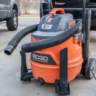Ridgid wet dry vacuum tool review