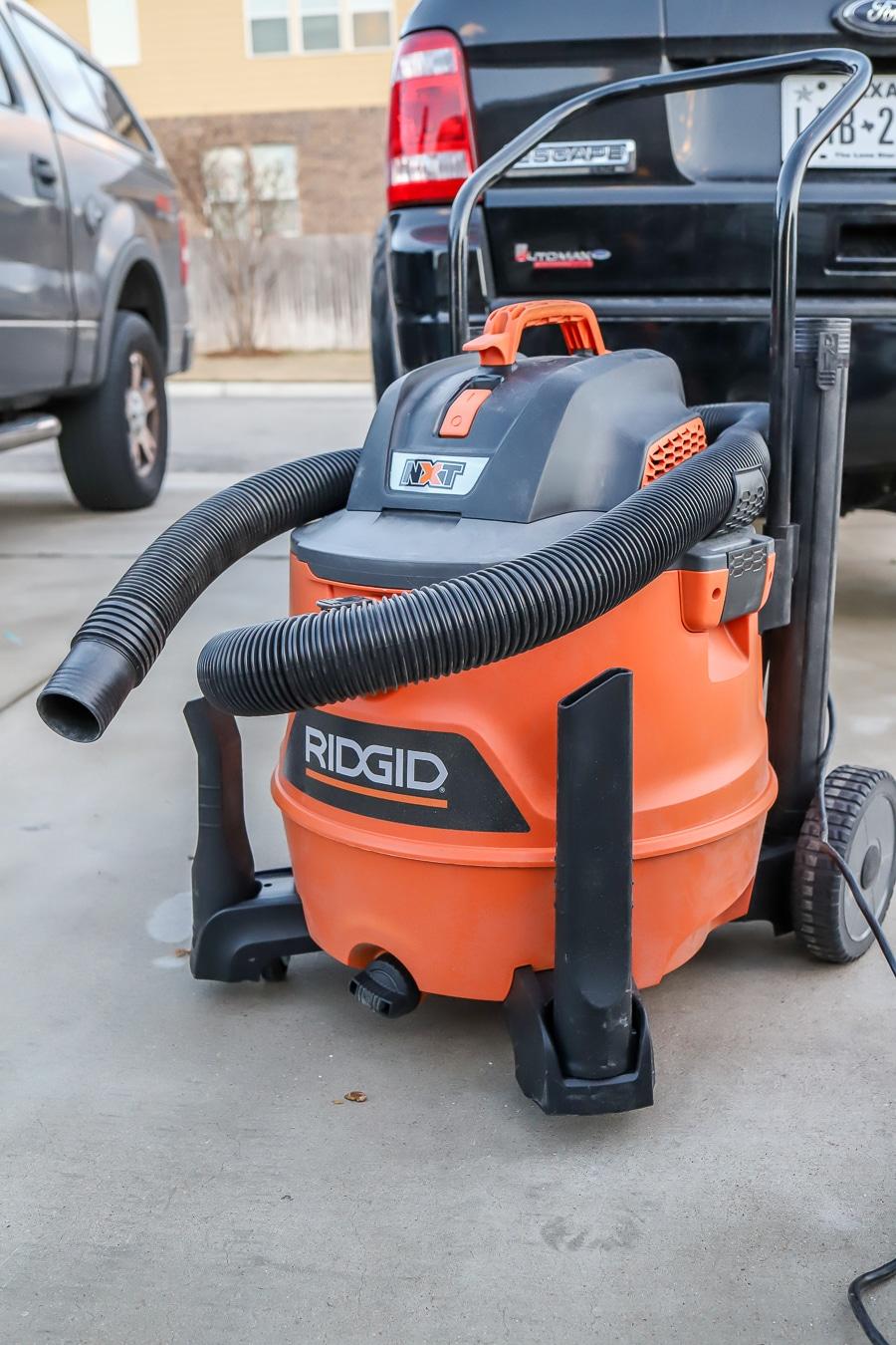 Ridgid wet dry vacuum tool review
