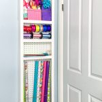 Behind-the-Door Storage Shelf