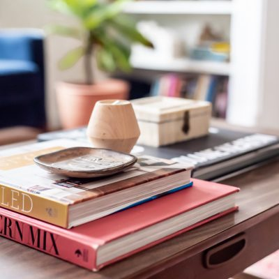 3 Easy Tips For Styling A Coffee Table
