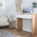 Modern Waterfall Console Table