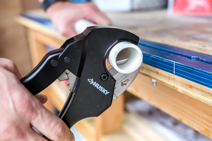 Husky Ratcheting PVC Cutter Tool Review
