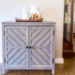 Chevron Storage Cabinet
