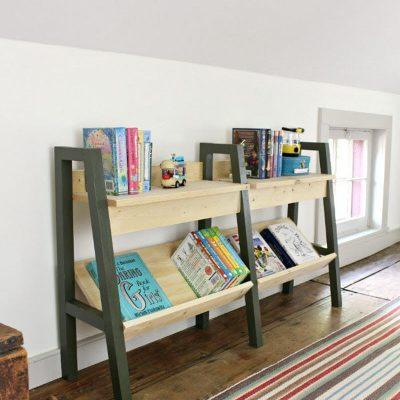 20 Amazing DIY Bookshelf Plans and Ideas