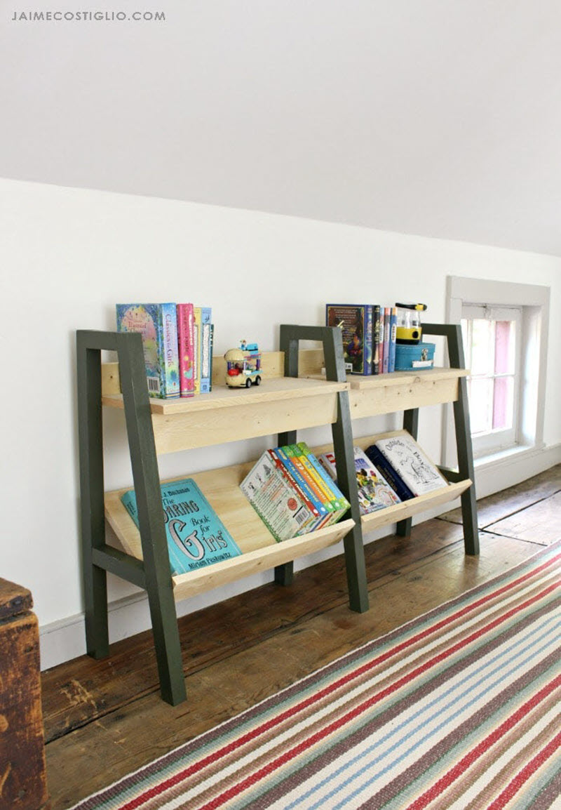 20 Amazing Diy Bookshelf Plans And