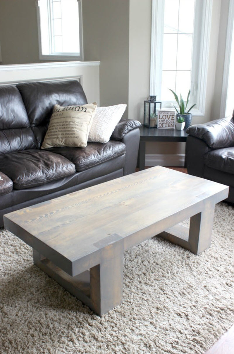 21 Unique Diy Coffee Tables Ideas And Plans The House Of Wood