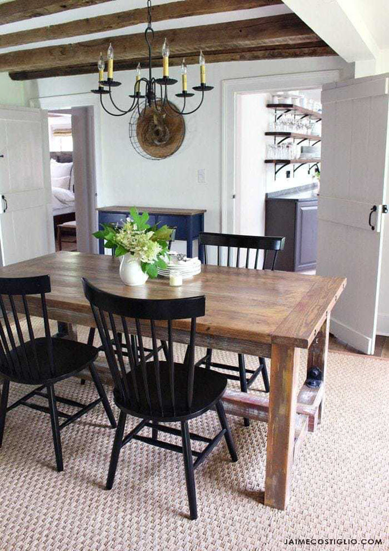 Picture of: 20 Gorgeous Diy Dining Table Ideas And Plans The House Of Wood