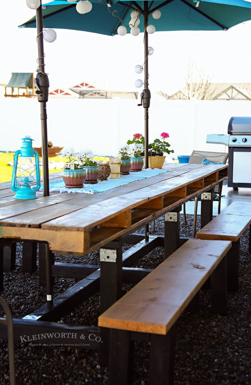 Magnificent 20 Gorgeous Diy Dining Table Ideas And Plans The House Of Wood Download Free Architecture Designs Ponolprimenicaraguapropertycom