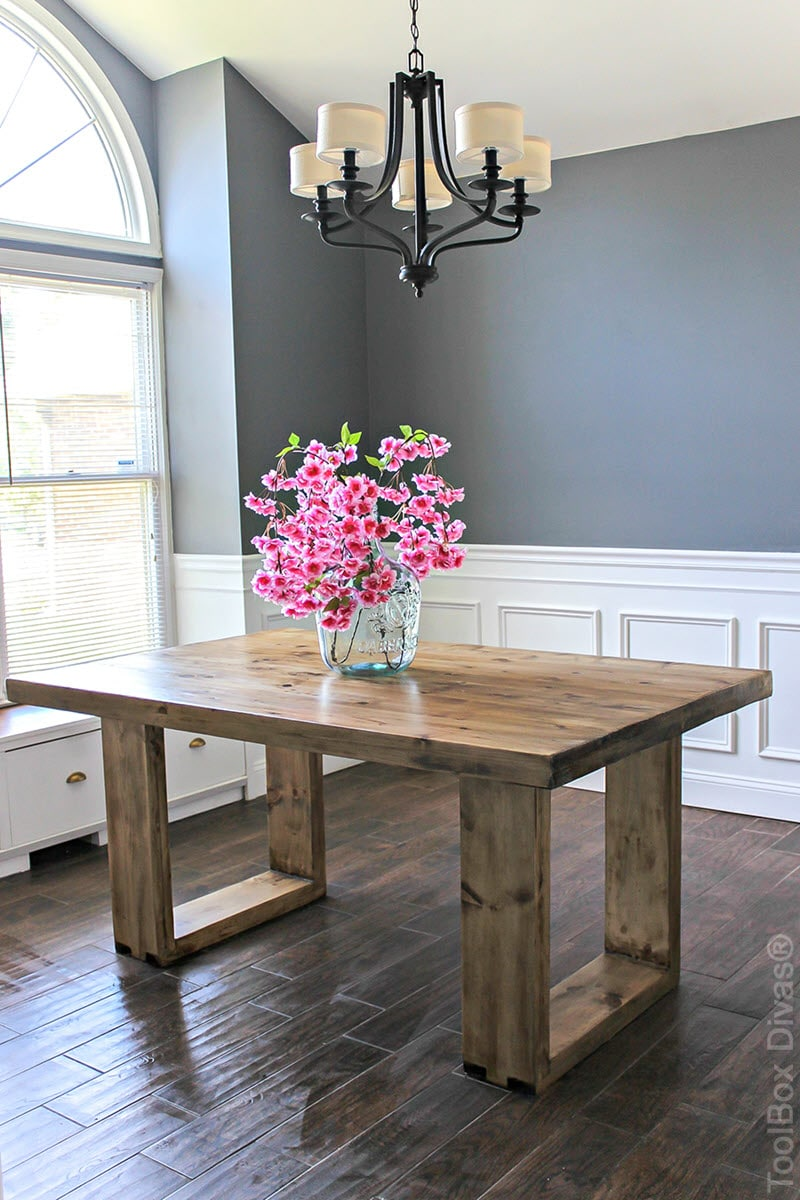 20 Gorgeous Diy Dining Table Ideas And Plans The House