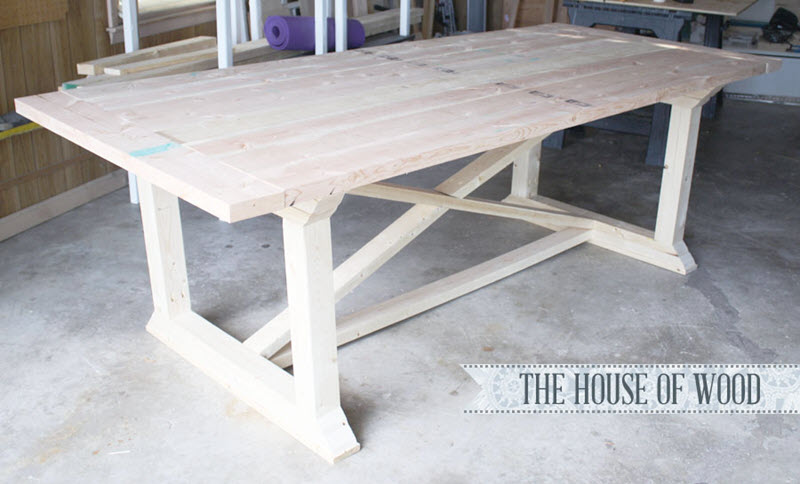 20 Gorgeous Diy Dining Table Ideas And, Build Your Own Dining Room Table Plans