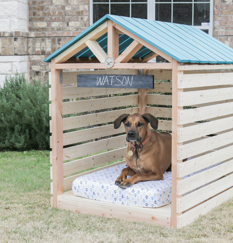 13 Diy Doghouse Plans And Ideas The House Of Wood