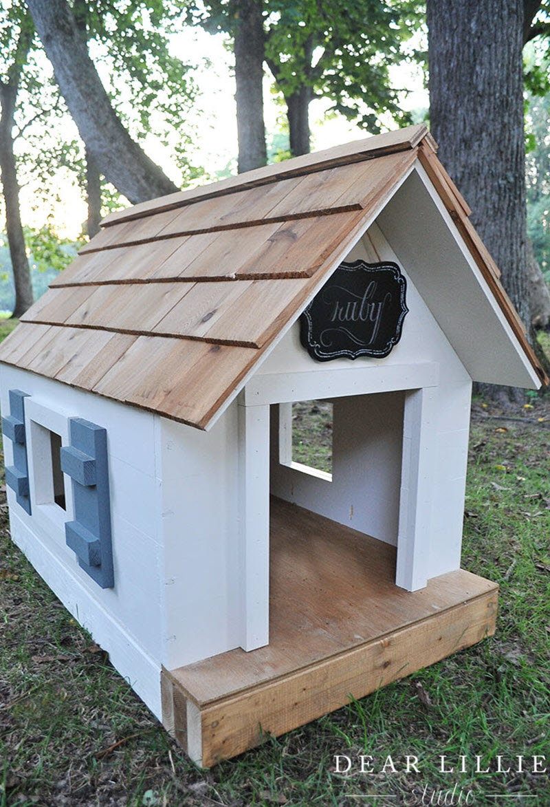 13 Diy Doghouse Plans And Ideas The