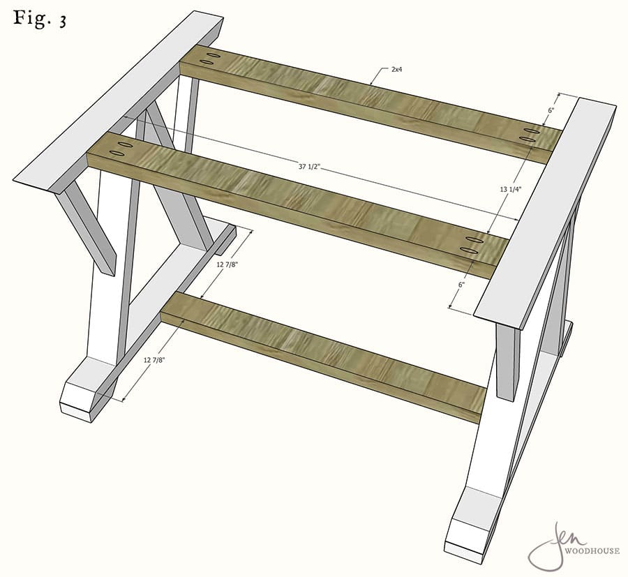How to build a DIY dining table free plans