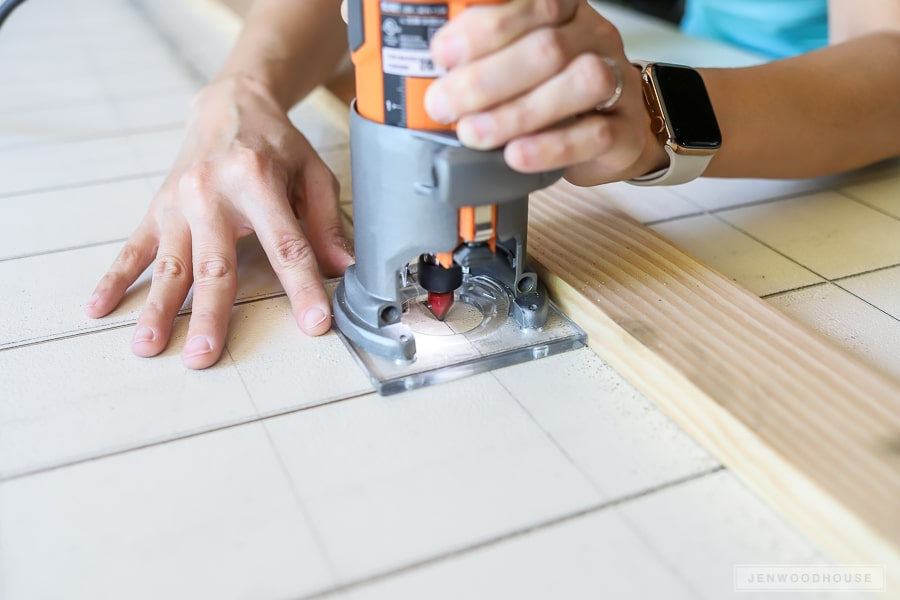 How to make a grid using a router
