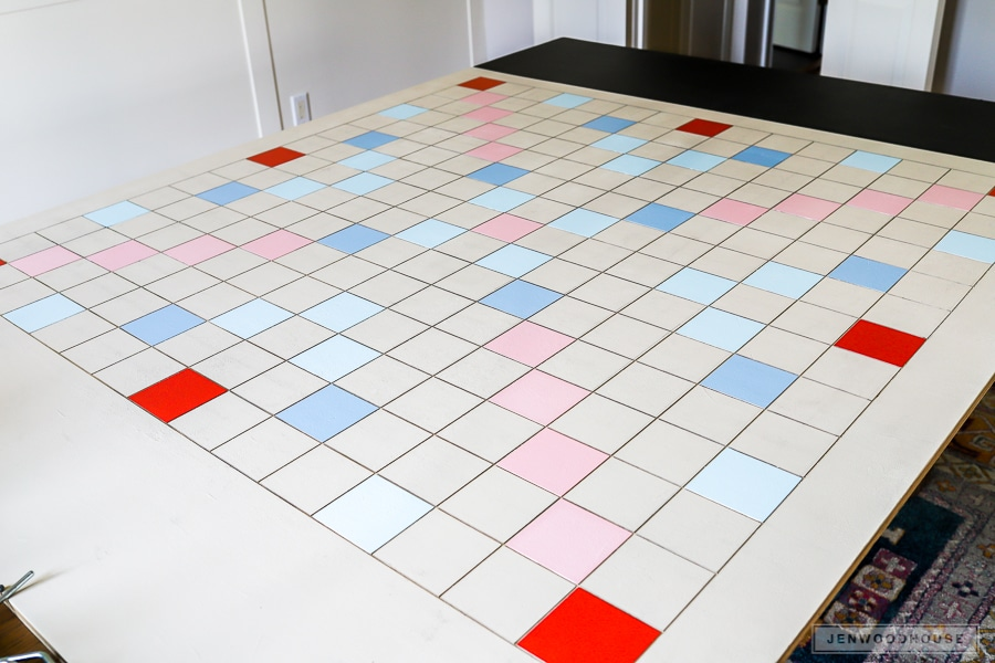 How to make a giant scrabble game