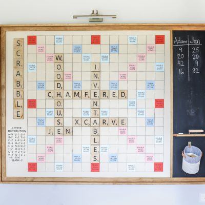 DIY Giant Wall Scrabble®