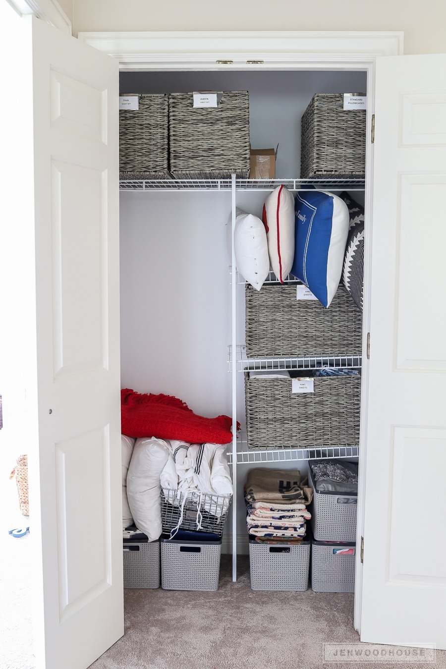 Linen Closet Organization How To Organize Your Linen Closet