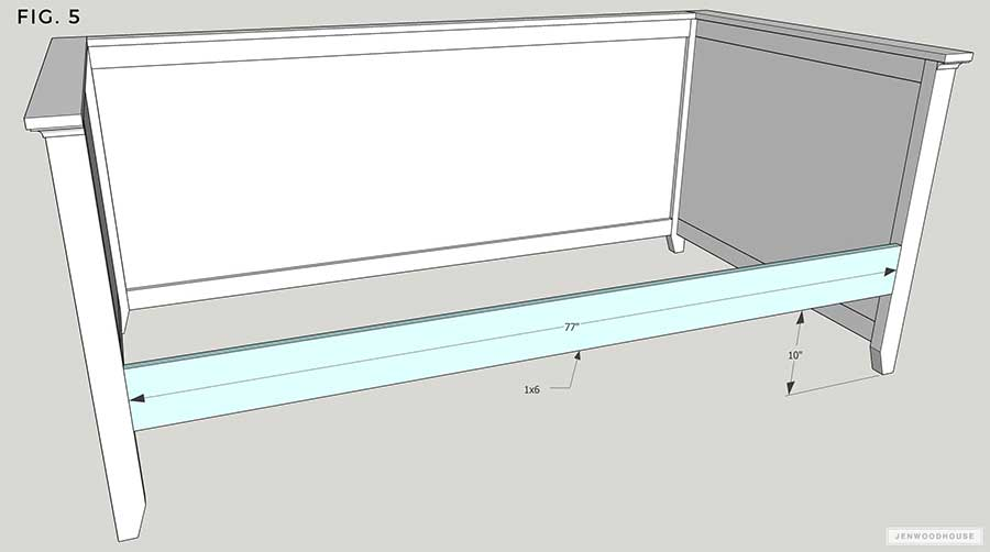 How to build a DIY Daybed with Trundle PLANS