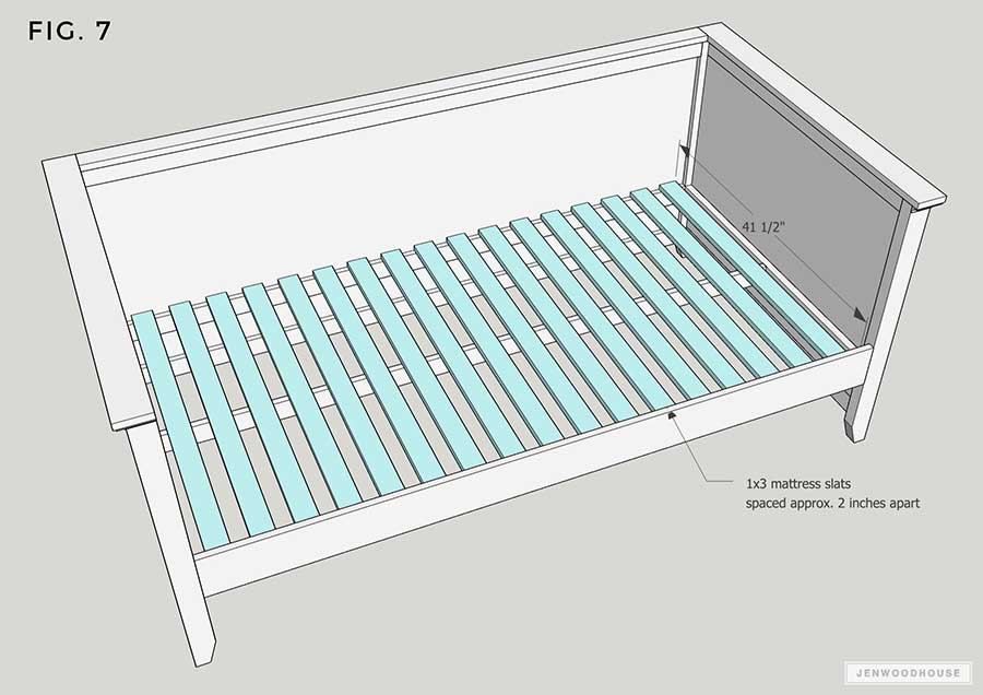 DIY Daybed Plans Trundle Bed Plans