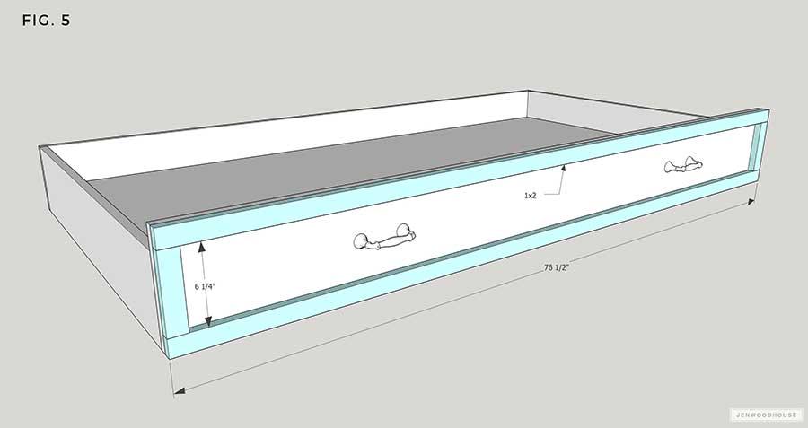 DIY Trundle bed mattress plans
