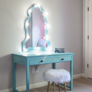 How To Make A Diy Makeup Vanity With