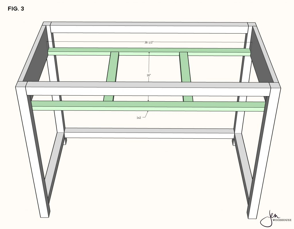DIY Makeup Desk Vanity Plans