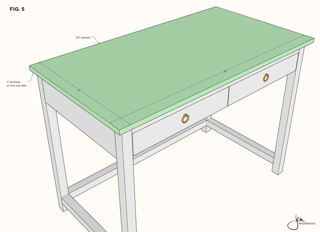 How to build a DIY console desk and vanity