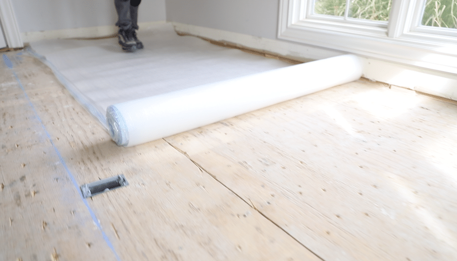 Underlayment for floating hardwood floors