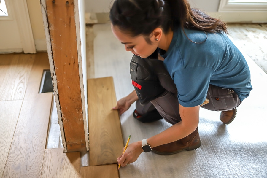 How to install click lock hardwood floors