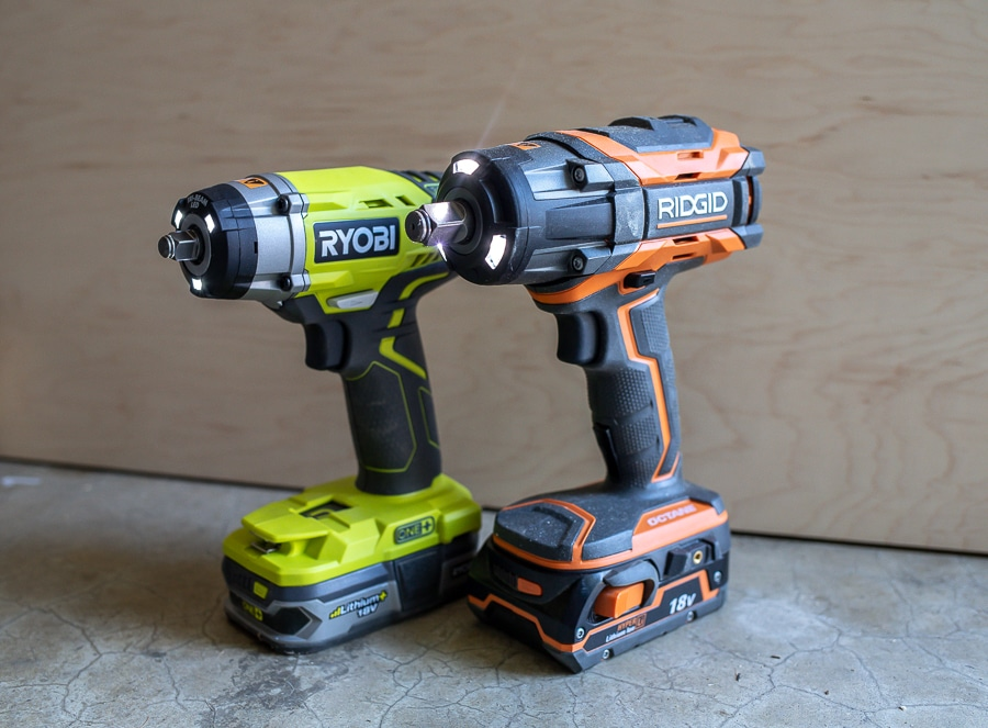 RYOBI and Ridgid Impact Wrenches Tool Review