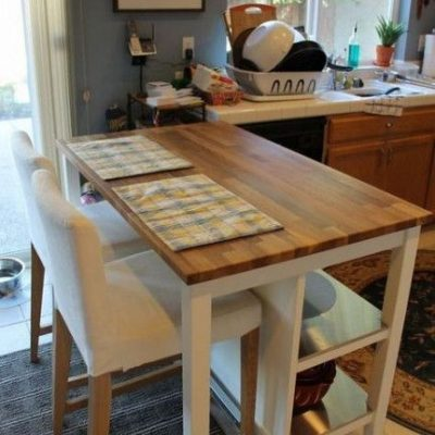 DIY IKEA Kitchen Island