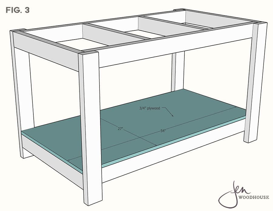 How to build an easy workbench with 2x4s