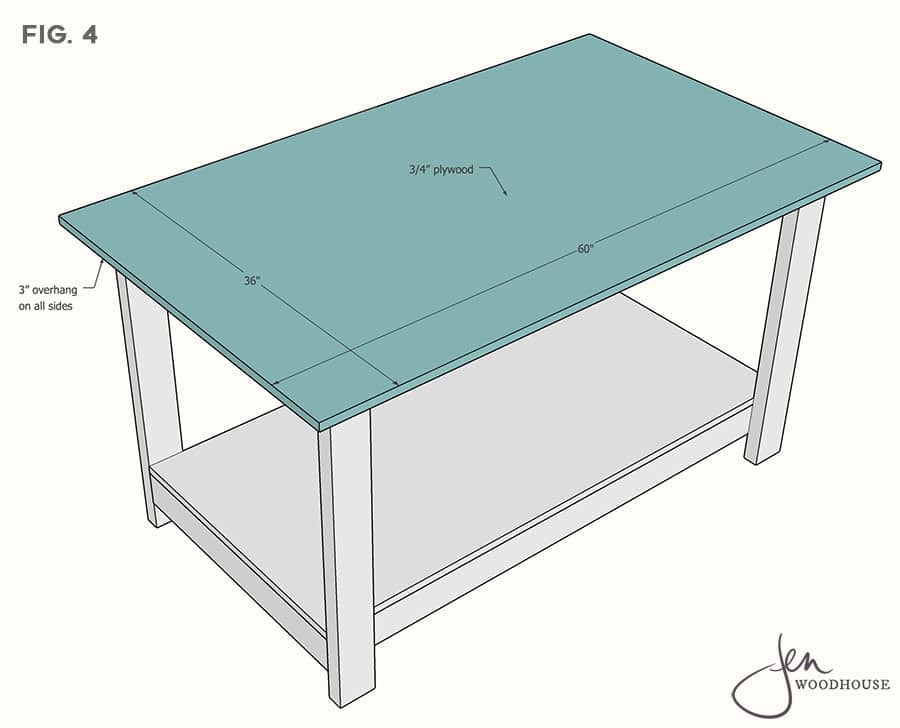 Easy workbench plans using 2x4 lumber
