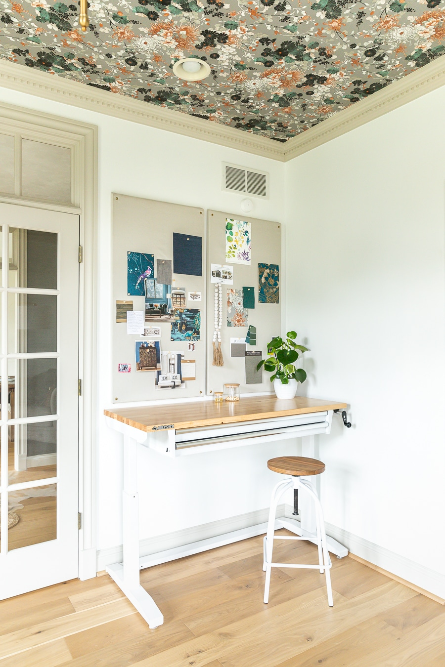 How to make a DIY fabric pin board design board inspiration pin board