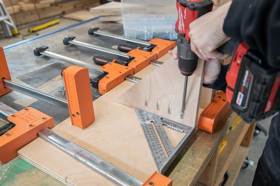 How to make a parallel clamp rack