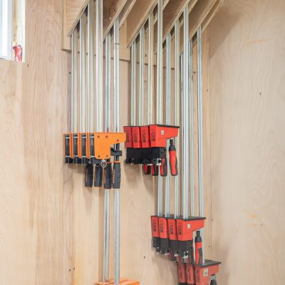 DIY Parallel Clamp Rack