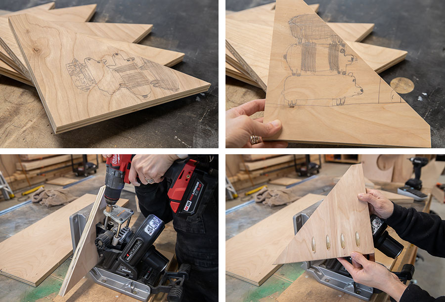 How to make a clamp rack