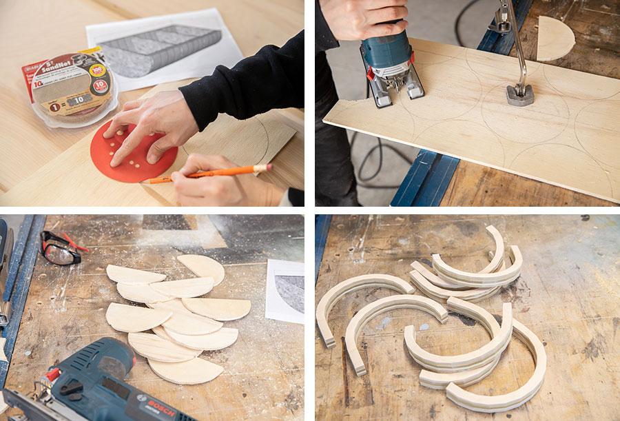 How to make a DIY sandpaper organizer