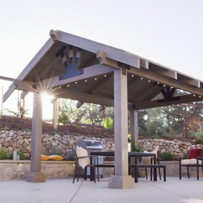 Spruce up your outdoor space by building a pavilion or pergola with Simpson Strong-Tie's new Avant Collection Outdoor Accents Hardware Line!