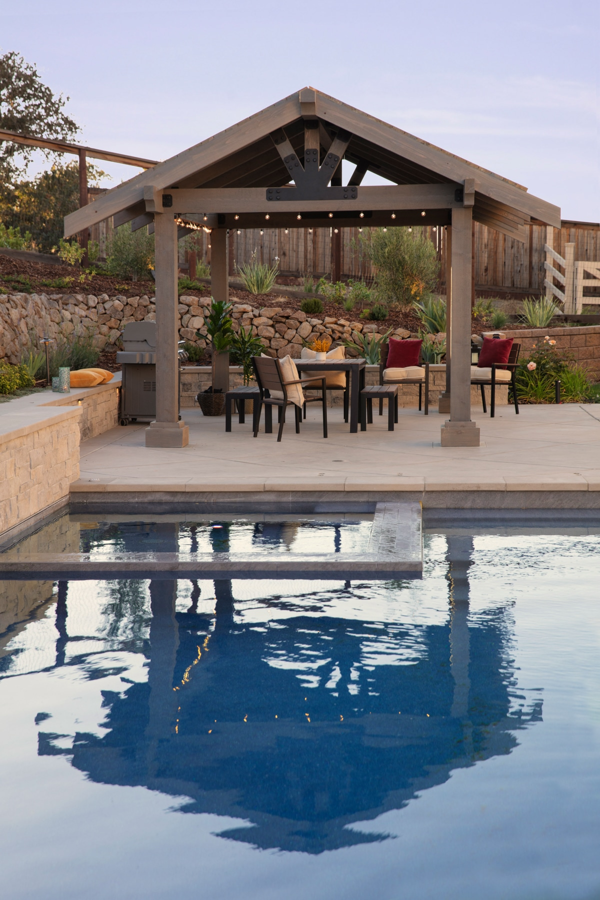Build an easy DIY pergola or outdoor party pavilion in a weekend