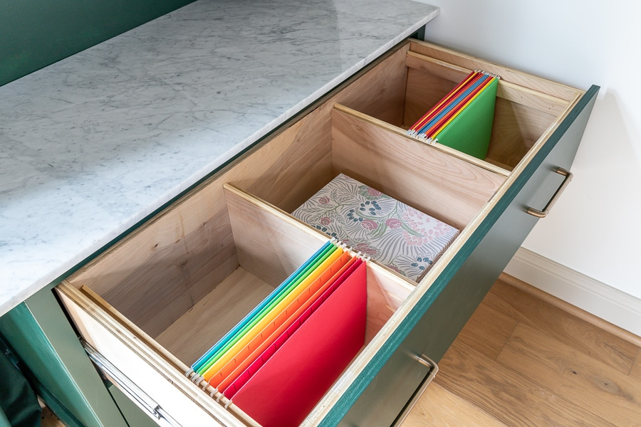How to build DIY filing cabinets