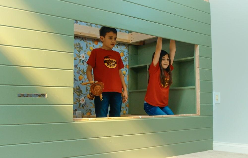 Adorable kids bunk beds