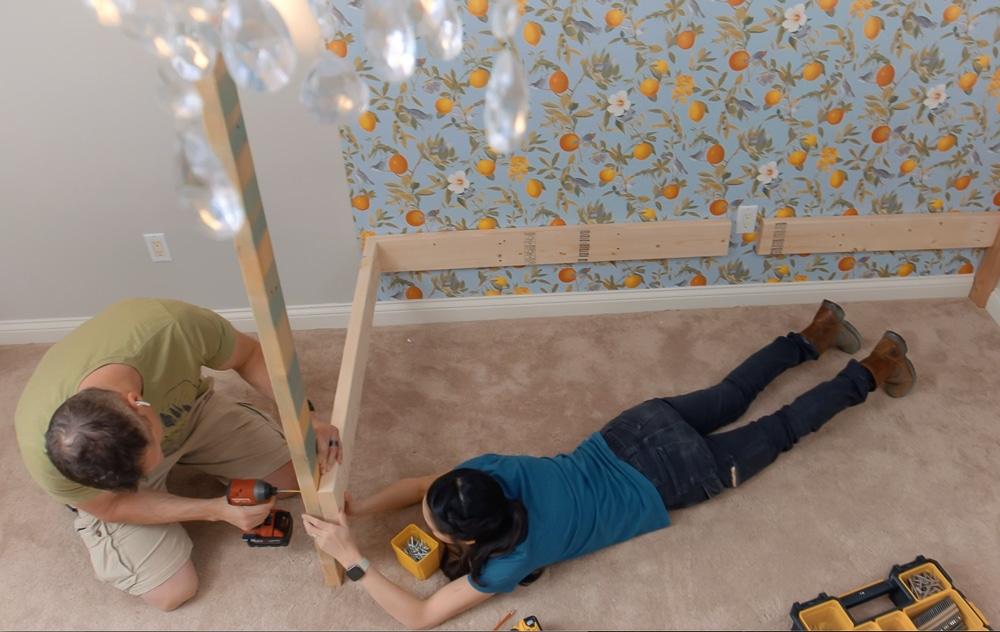 How to build DIY bunk beds