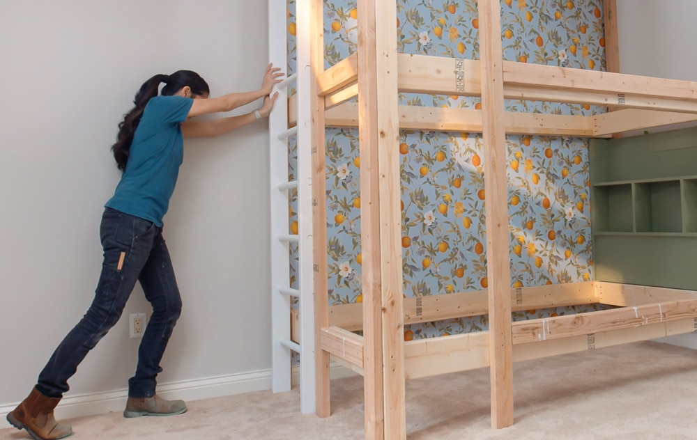 How To Build Diy Built In Bunk Beds Kids Bed Ideas Plans