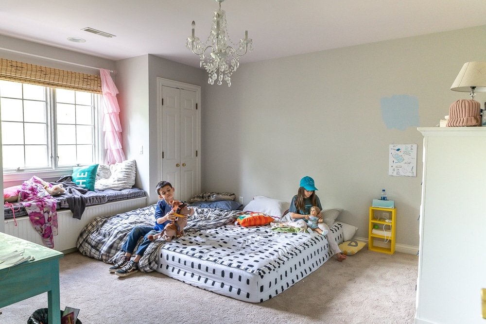 DIY kids bunk beds