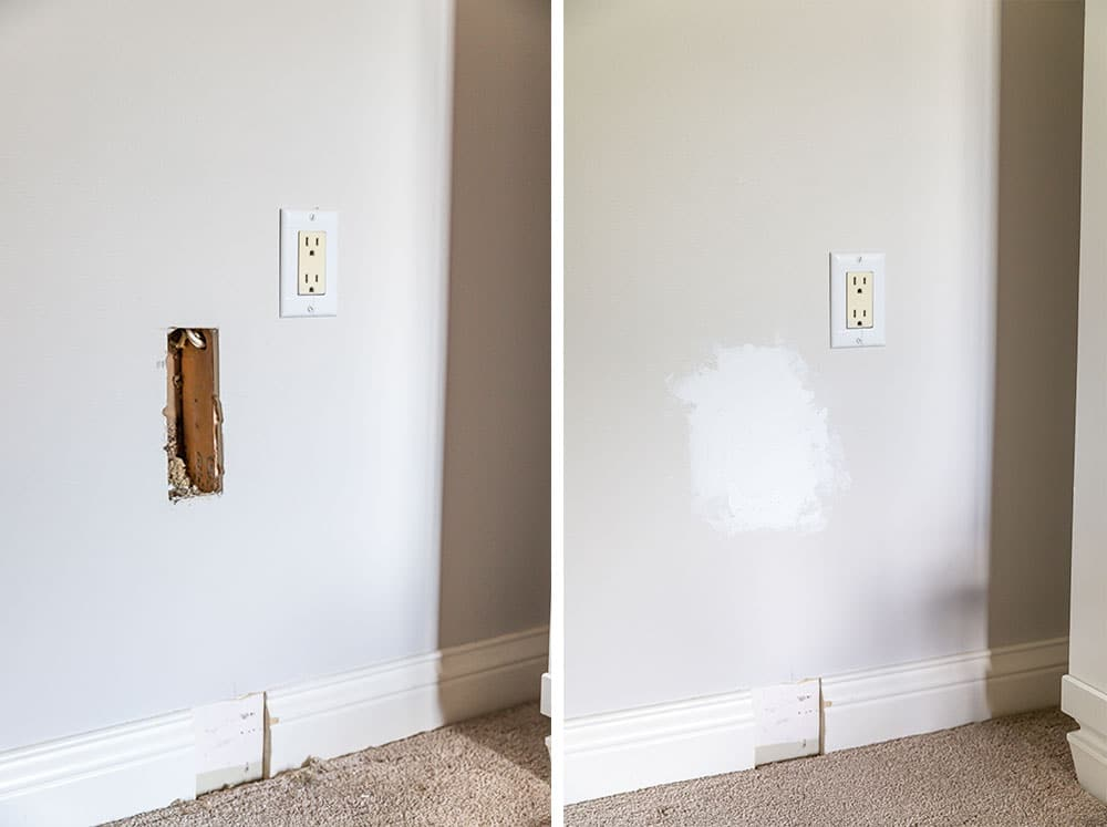 Moving a power outlet DIY