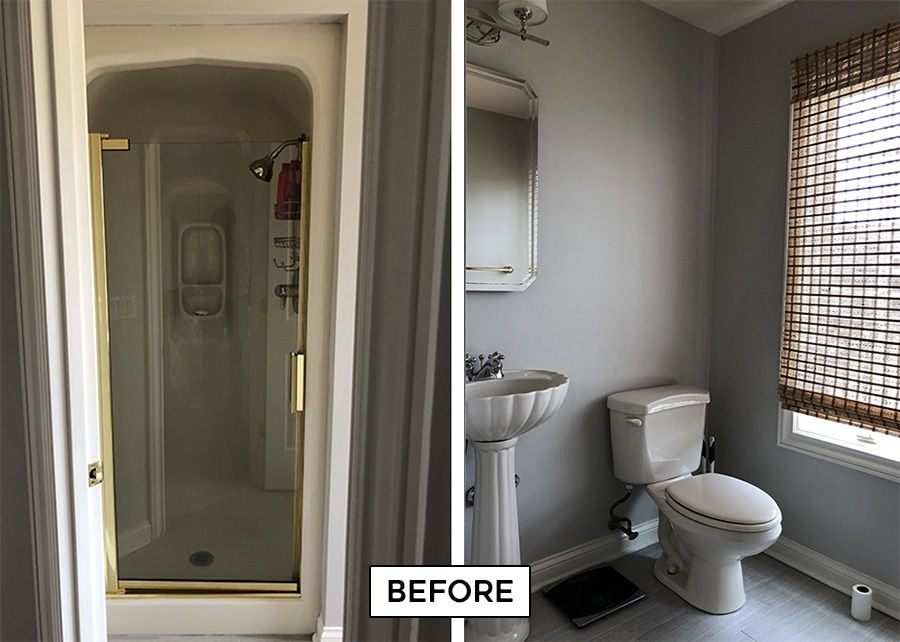 bathroom renovation before photos