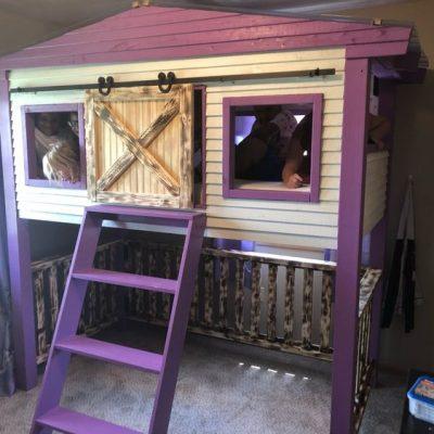 Barn Door Loft Bed