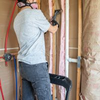 Guest Bathroom Renovation (Part 4) – Insulation and Cement Board Installation