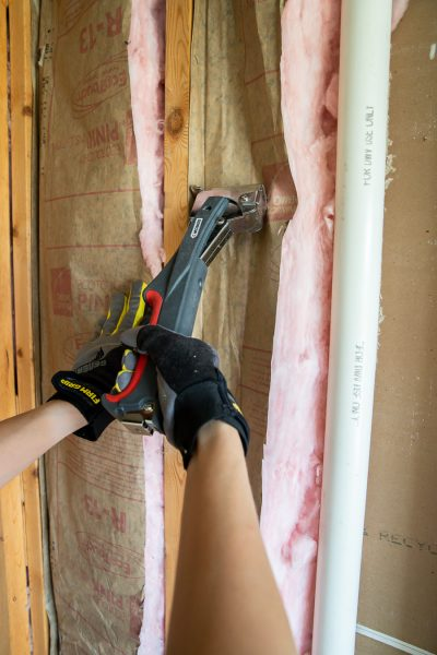 How to install batt insulation the easy way
